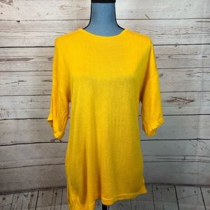 Gold Outlander Studios Rayon Sh Sl Sweater #0494